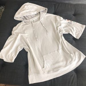 Victoria's Secret short sleeved hoodie